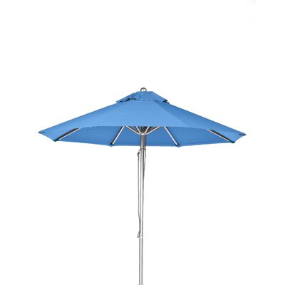 9' Market Umbrella Fabric: Capri Blue 854CAM-CPA