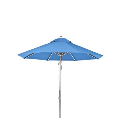 11 Market Umbrella Fabric: Capri Blue