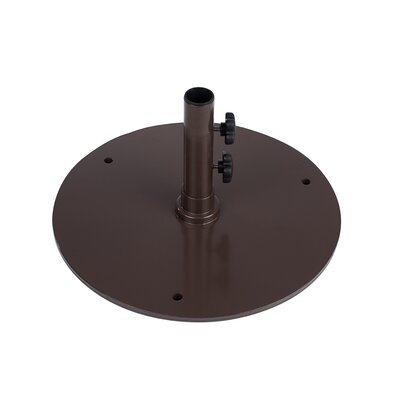 50 lb Steel Base Color: Bronze