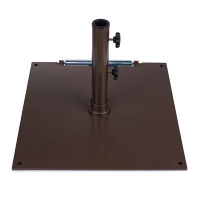 75 lb Steel Base Color: Bronze