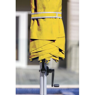 11 Aurora Cantilever Umbrella Color: Sunflower Yellow
