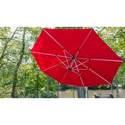 11 Aurora Cantilever Umbrella Color: Logo Red