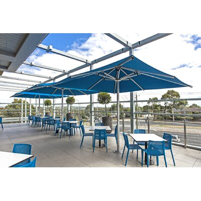13 Nova Square Market Umbrella Color: Pacific Blue