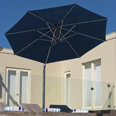 11 Aurora Cantilever Umbrella Color: Navy Blue