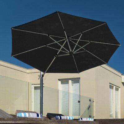 11 Aurora Cantilever Umbrella Color: Black