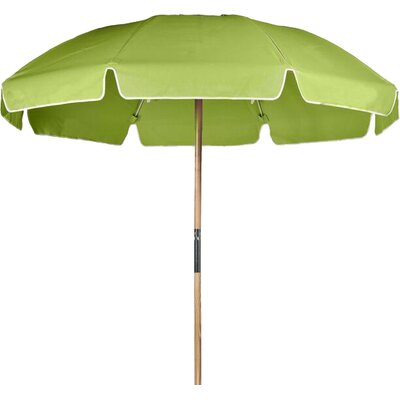 7.5 Beach Umbrella Fabric: Pistachio Acrylic