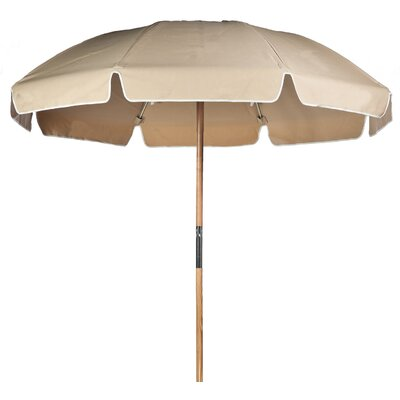 7.5 Beach Umbrella Fabric: Toast Acrylic