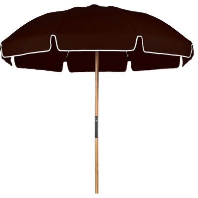 7.5 Beach Umbrella Fabric: Brown Acrylic