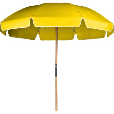 7.5 Beach Umbrella Fabric: Yellow Acrylic