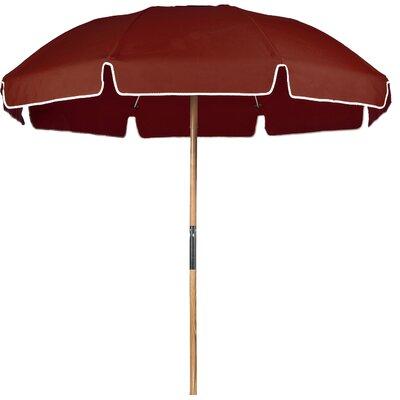 7.5 Beach Umbrella Fabric: Terracotta Acrylic