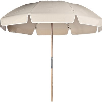7.5 Beach Umbrella Fabric: Linen Acrylic