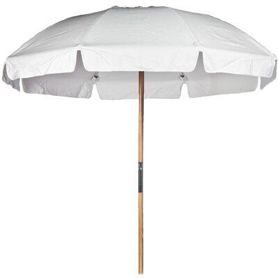 7.5 Beach Umbrella Fabric: White Acrylic
