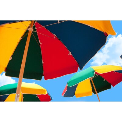 7.5 Beach Umbrella Fabric: Beach Ball