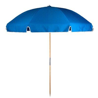 7.5 Beach Umbrella Fabric: Pacific Blue