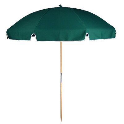 7.5 Beach Umbrella Fabric: Forest Green