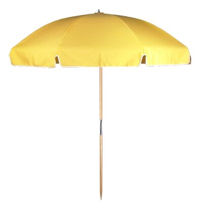 7.5 Beach Umbrella Fabric: Sunflower Yellow