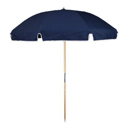 7.5 Beach Umbrella Fabric: Navy Blue