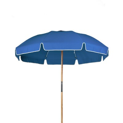 7.5 Drape Umbrella Fabric: Capri Blue Acrylic