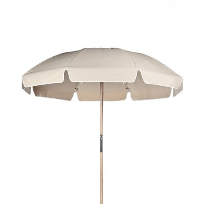 7.5 Drape Umbrella Fabric: Linen Acrylic