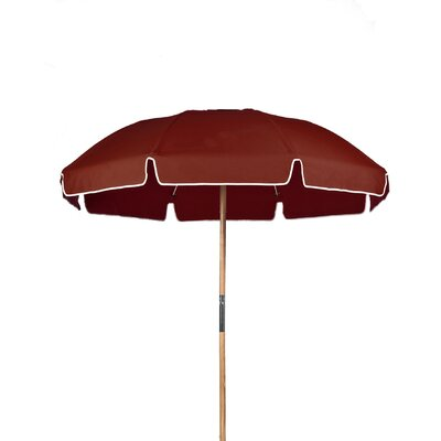 7.5 Drape Umbrella Fabric: Terracotta Acrylic