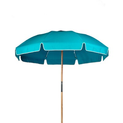 7.5 Drape Umbrella Fabric: Turquoise Acrylic