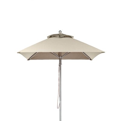 7.5 Square Market Umbrella Fabric: Linen
