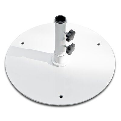 50 lb Steel Base Color: White