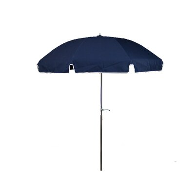 7.5 Drape Umbrella Fabric: Navy Blue