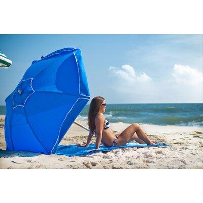 6.5 Beach Umbrella Fabric: Pacific Blue