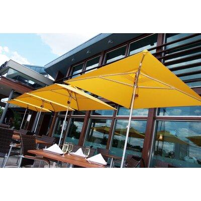 7.5 Square Market Umbrella Fabric: Yellow