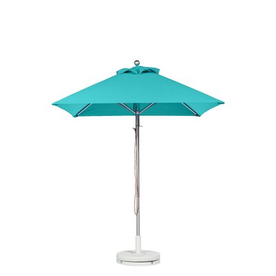 6.5 Square Market Umbrella Fabric: Turquoise