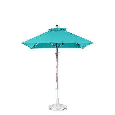 7.5 Square Market Umbrella Fabric: Turquoise