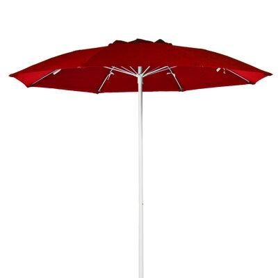 FRANKFORD UMBRELLAS 7.5' Fiberglass Patio Umbrella - Fabric: Navy Blue, Pole Type: Wood Grain Coated Aluminum Center at Sears.com