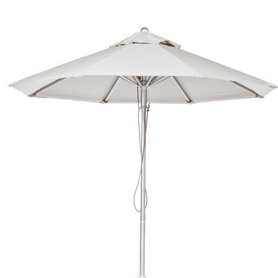 7.5 Market Umbrella Fabric: White