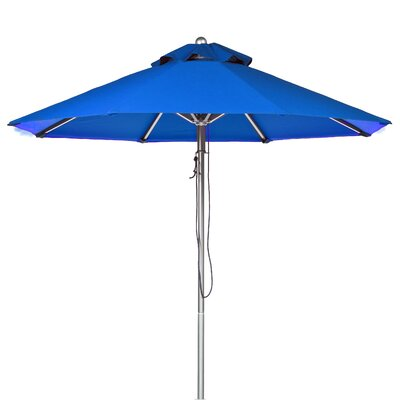 11 Market Umbrella Fabric: Pacific Blue