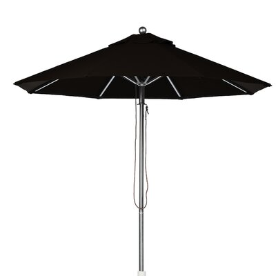 7.5 Market Umbrella Fabric: Black