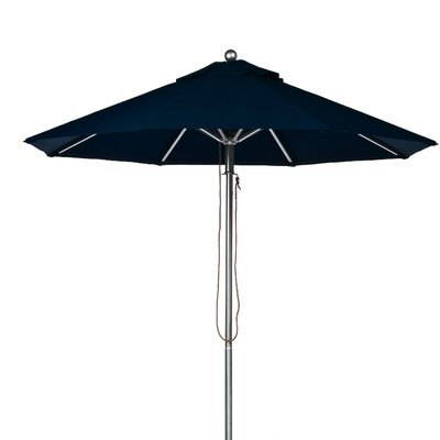 11 Market Umbrella Fabric: Navy Blue