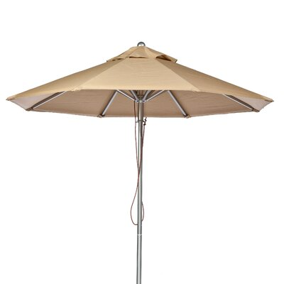 9 Market Umbrella Fabric: Toast