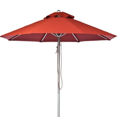 11 Market Umbrella Fabric: Terra Cotta