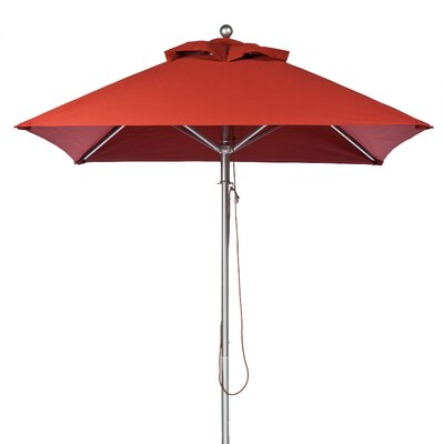 6.5 Square Market Umbrella Fabric: Terra Cotta
