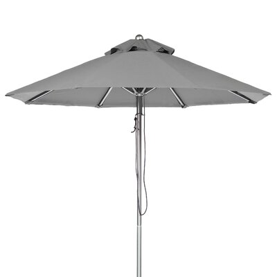7.5 Market Umbrella Fabric: Cadet Gray