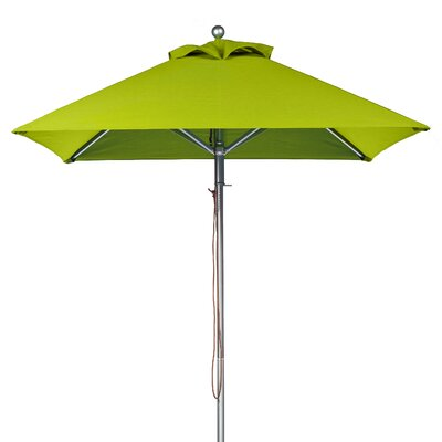 6.5 Square Market Umbrella Fabric: Pistachio