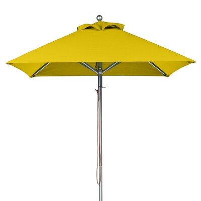 6.5 Square Market Umbrella Fabric: Yellow