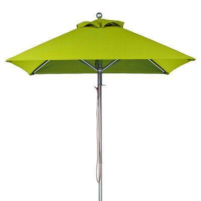7.5 Square Market Umbrella Fabric: Pistachio