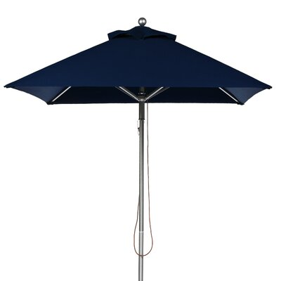 7.5 Square Market Umbrella Fabric: Navy Blue