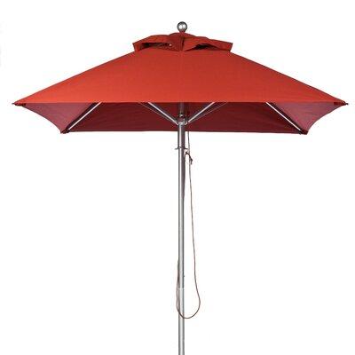 7.5 Square Market Umbrella Fabric: Terra Cotta