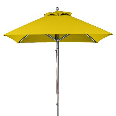 7.5 Square Market Umbrella Fabric: Yellow