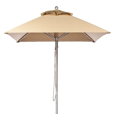 7.5 Square Market Umbrella Fabric: Toast
