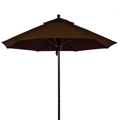 FRANKFORD UMBRELLAS 7.5' Fiberglass Market Umbrella - Fabric: Brown, Pole Type: White Coated Aluminum Pole at Sears.com