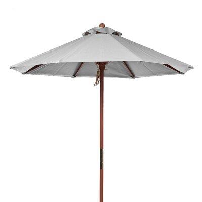 7.5 Market Umbrella Fabric: Cadet Gray